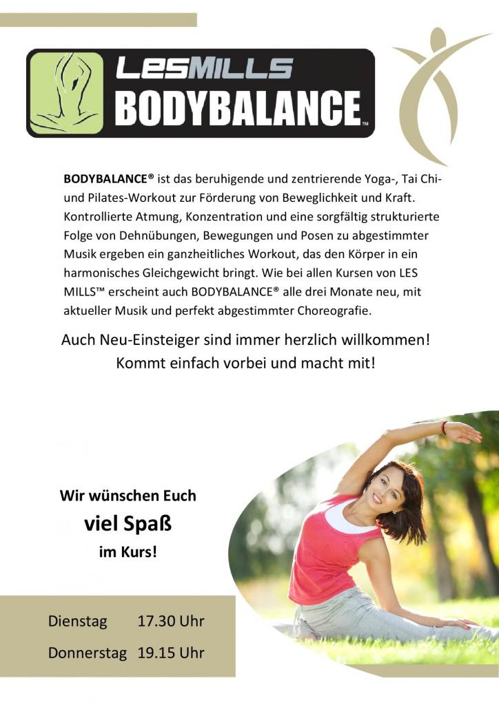 1. Standartaushang Body Balance