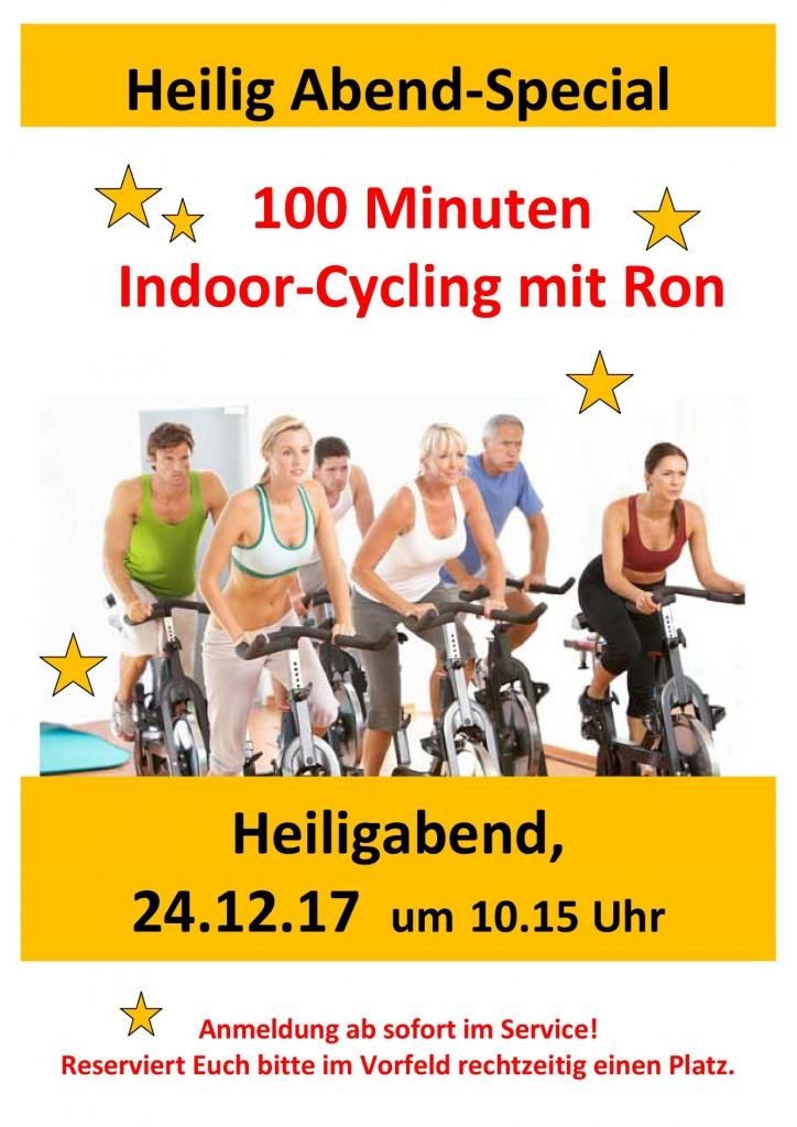Heiligabend 100 min Indoorcycling