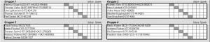 Squash Hobby Liga aktueller Spielplan Dezember 2018