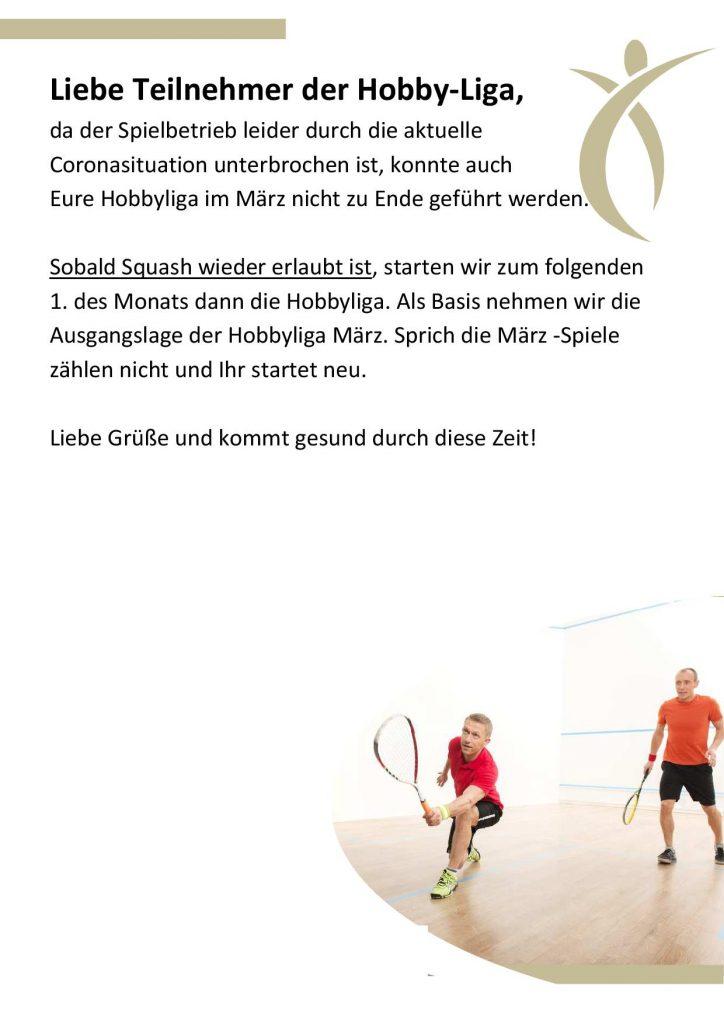 Hobbyliga Squash & Badminton